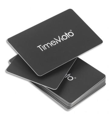 SAFESCAN Boîte de 25 badges cartes RF-100 pour pointeuses TimeMoto 125-0603