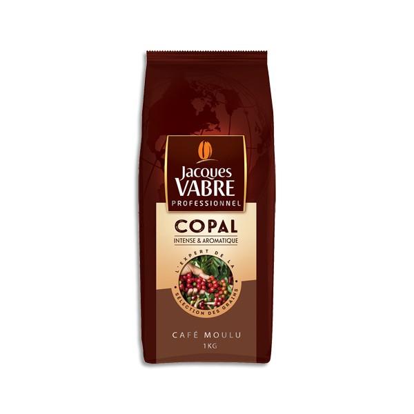 JACQUES VABRE Paquet d'1 kg de café moulu Copal, intense et aromatique (photo)