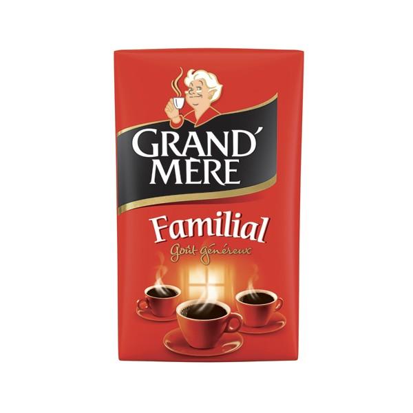 GRAND MERE Paquet de 250g de Café moulu Familial, Robusta (photo)