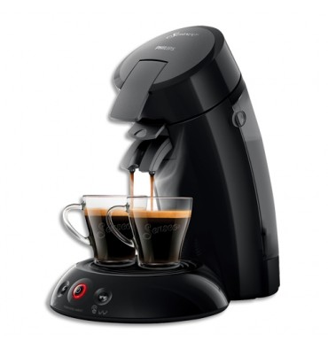 SENSEO Machine à café Original noire 1450W écran tactile, capacité 0,7L, 2 tasses L21,3 x H33 x P31,5 cm