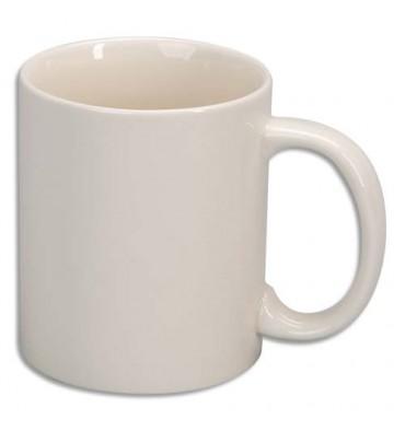 O COLOR Lot de 6 mugs en céramique émaillée de haute qualité. A décorer