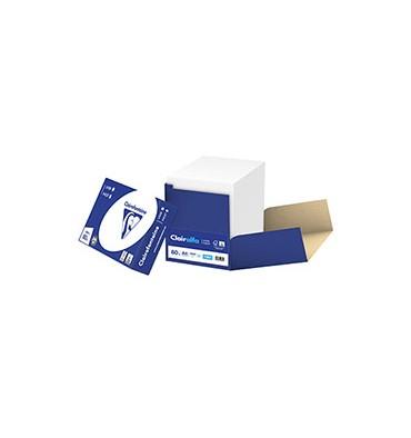 CLAIREFONTAINE Box de 2500 feuilles papier blanc CLAIRALFA 80g A4