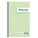 EXACOMPTA Manifold Factures 21 x 13,5 cm - 50 feuillets dupli autocopiants 13280E