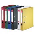PERGAMY Classeur à levier en polypropylène intérieur/extérieur. Dos 5 cm. Format A4. Coloris assortis standard