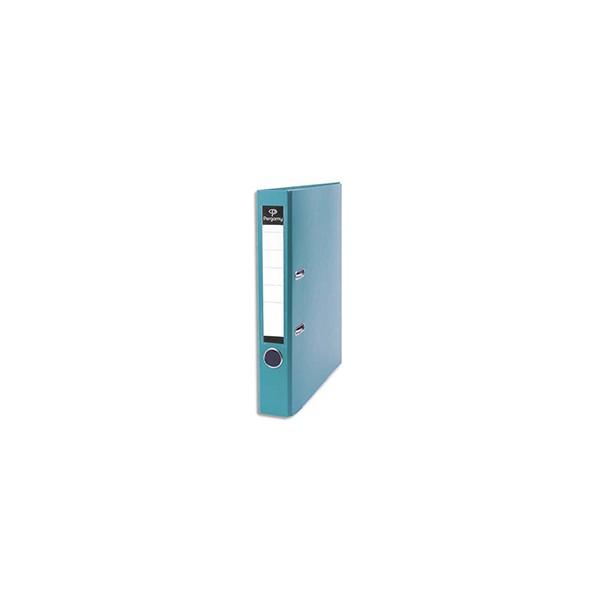 PERGAMY Classeur à levier en polypropylène intérieur/extérieur. Dos 5 cm. Format A4. C