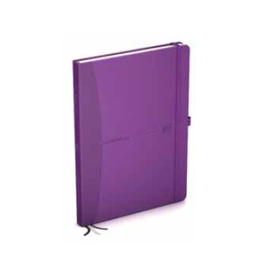 OXFORD Agenda MY JOURNAL 2 jours par page 15 x 21 cm coloris violet