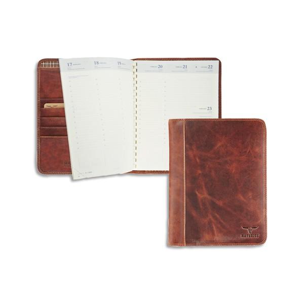 BREPOLS Semainier Maverick® Timing, 1 semaine sur 2 pages, 16,8 x 22 cm couverture amovib