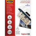 FELLOWES Boîte de 25 pochettes de plastification format A4, 2x 125 microns