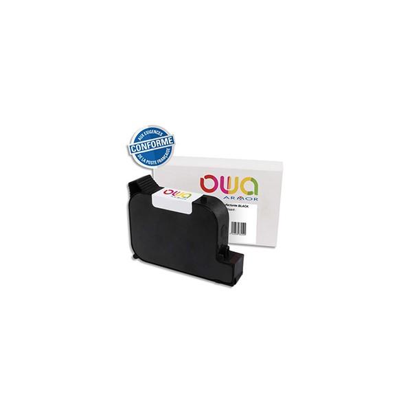 OWA Cartouche compatible machine à affranchir PitneyBowes DM210/390 DE6181. Capacité 2x 84 ml / 2000 pages