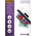 FELLOWES Pack de 100 pochettes A4 2x 80 microns Mat