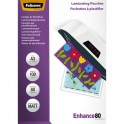 FELLOWES Pack de 100 pochettes A3 2x 80 microns finition Mate