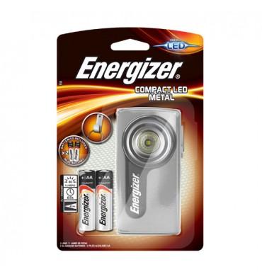 ENERGIZER Lampe compact métal LED avec piles