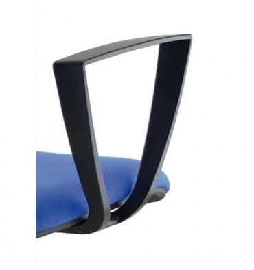 Paire d'accoudoirs fixes pour sièges Kilima et Gaz coloris noir