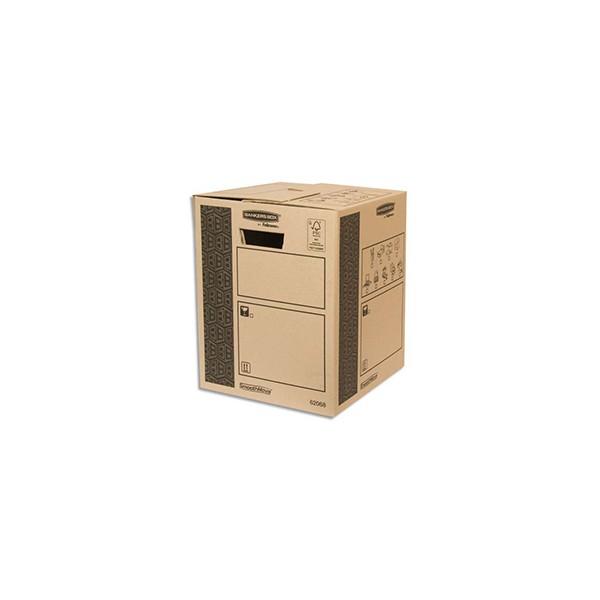 BANKERS BOX Caisse multi-usage 30 x 37 x 30 cm montage auto 100% recyclé et recyclable (photo)