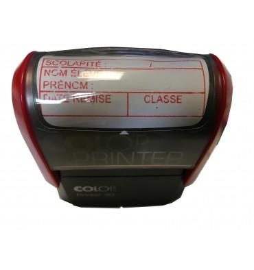 Tampon personnalisé COLOP Printer 40 avec 4 cadres