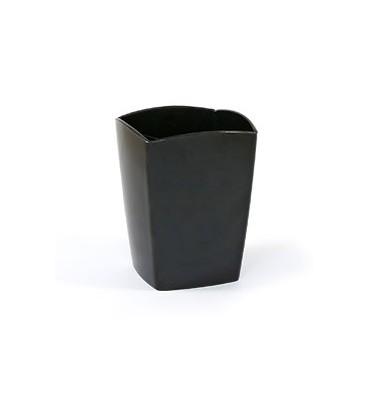 5 ETOILES Pot à crayons en polystyrène coloris noir