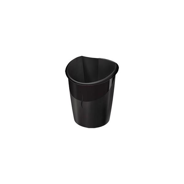 CEP Corbeille à papier Ellypse 15 L noir (photo)