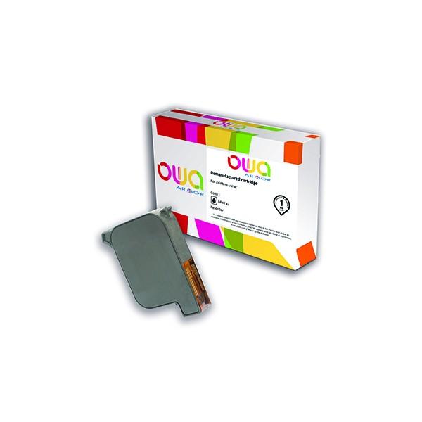 OWA Cartouche compatible machine à affranchir HP Address Printer C6170A. Capacité 42 ml