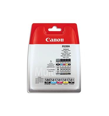 CANON Multipack cartouches PGI-580 / CLI-581