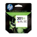 HP Cartouche jet d'encre haute capacité couleur N°301XL