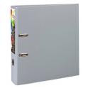 EXACOMPTA Classeur à levier en polypropylène PREM TOUCH dos de 8 cm, coloris gris foncé
