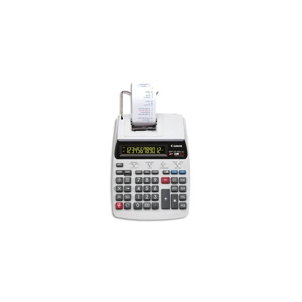 CANON Calculatrice imprimante à 12 chiffres MP-120-MG-ES, coloris blanc