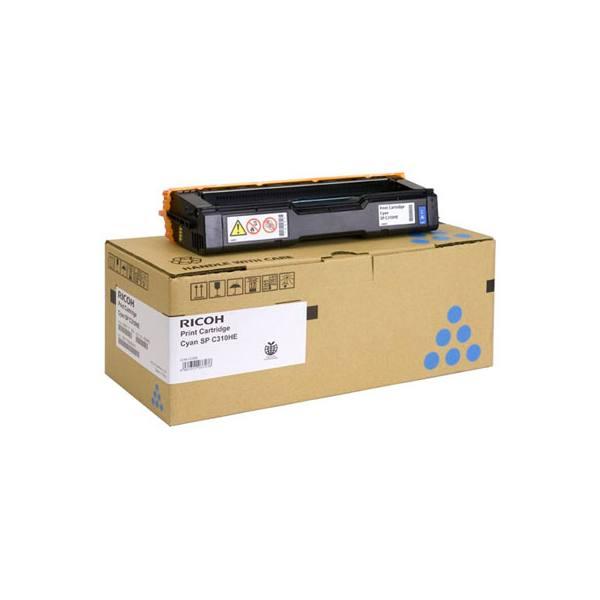 RICOH Cartouche toner laser haute capacité jaune SPC310 AIO - 407637