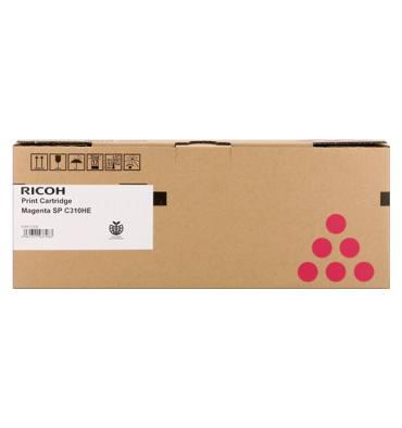 RICOH Cartouche toner laser haute capacité magenta SPC310 AIO - 407636