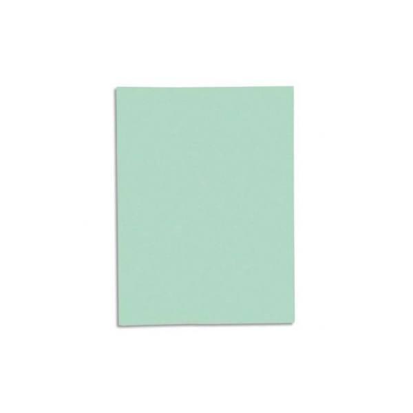 EXACOMPTA Paquet de 100 chemises Super 250 en carte 210 g, coloris vert clair