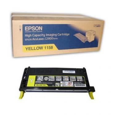 EPSON Cartouche toner laser haute capacité jaune C13S051158