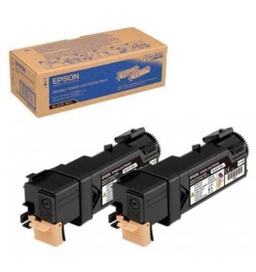 EPSON Double-pack cartouches toner laser noir C13S050631