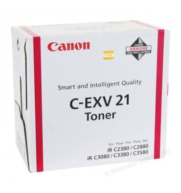 CANON Cartouche toner pour copieur encre magenta C-EXV21 M
