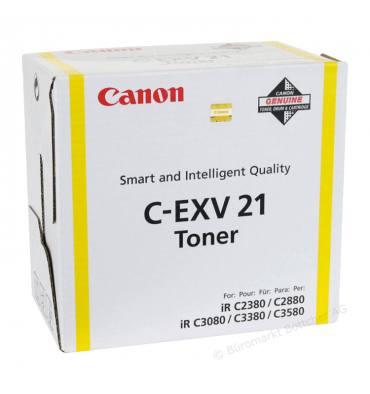 CANON Cartouche toner pour copieur encre jaune C-EXV21 Y