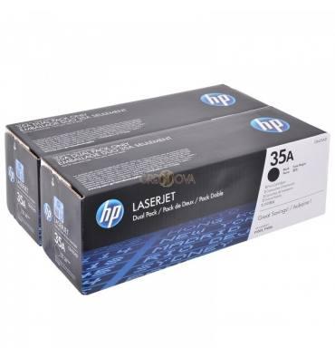 HP Cartouche toner laser noir 35A - CB435AD