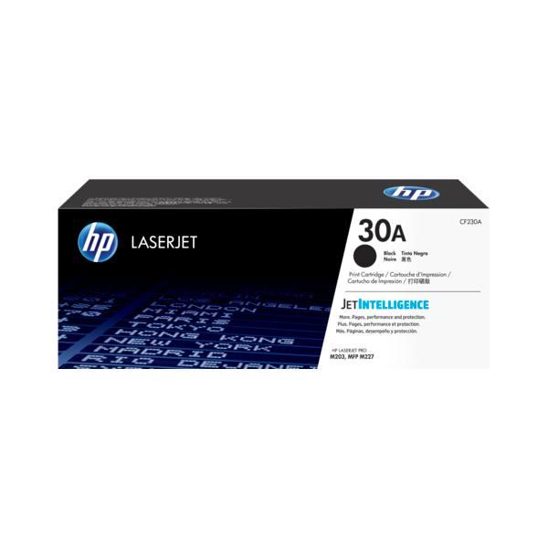 HP Cartouche toner laser noir 30A - CF230A