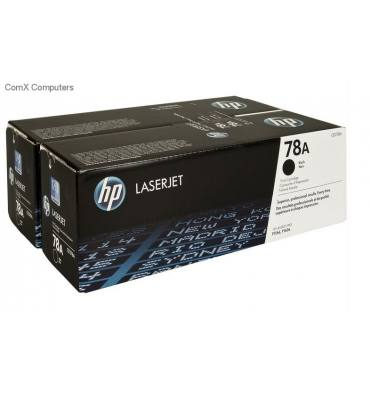 HP Twin pack cartouches toner laser noir 78A - CE278AD