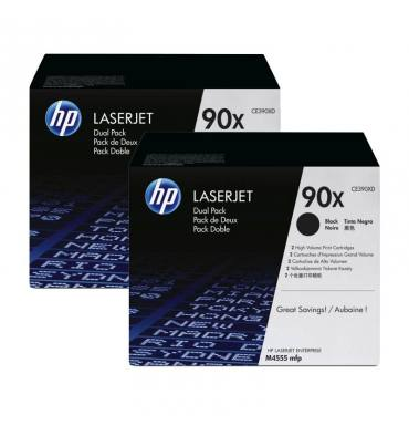 HP Twin pack cartouches toner laser noir 390X - CE390XD