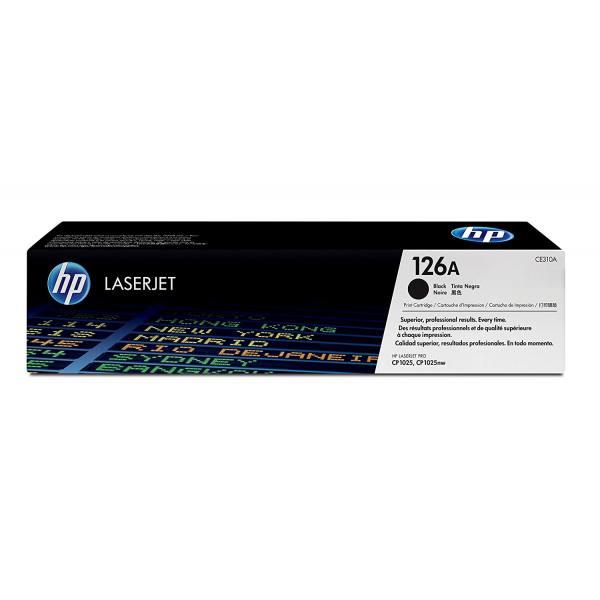HP Cartouche toner laser noir 126A - CE310A