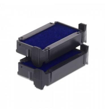 DIRECT FOURNITURES Cassette d'encrage COLOP compatible pour Trodat Printy dateur 4810 coloris bleu
