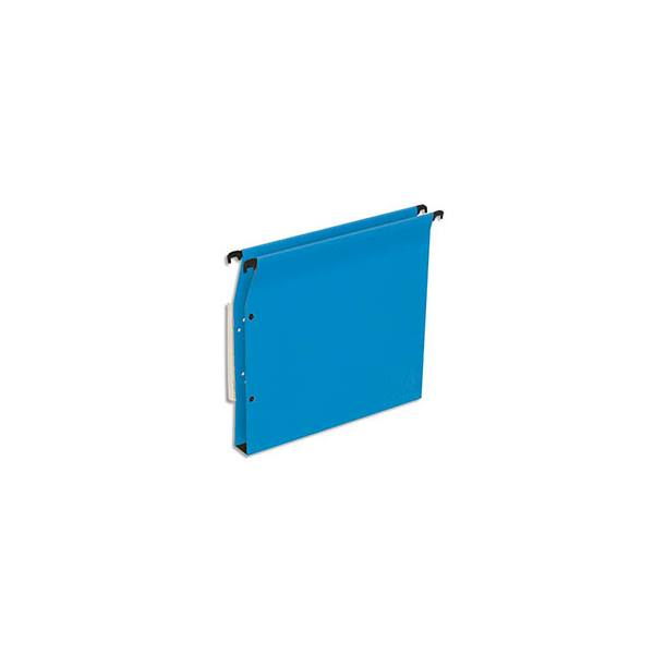 5 ETOILES Boîte de 25 dossiers suspendus ARMOIRE en kraft 220g. Fond 30 mm, volet agrafage + pression. Bleu (photo)