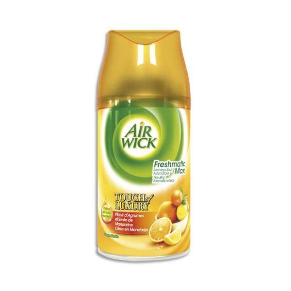 AIR WICK Recharge Freshmatic parfum plaisir d'agrumes et zeste d'agrumes (photo)