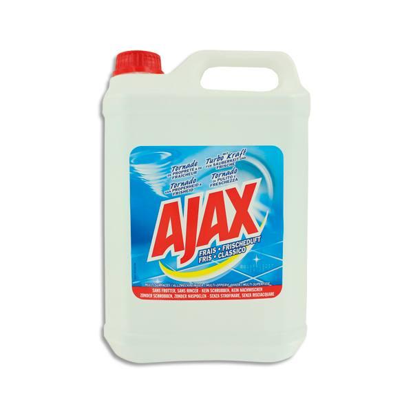 AJAX Bidon de 5 litres nettoyant parfum frais (photo)