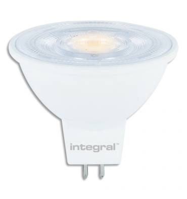 INTEGRAL Spot LED MR16, GU5.3 5W blanc chaud