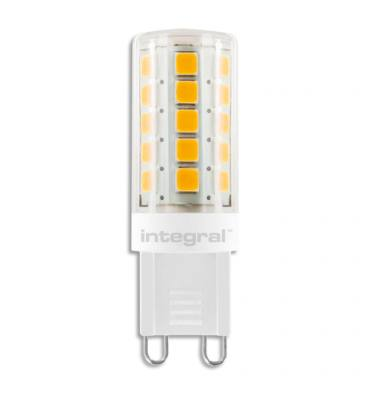 INTEGRAL Ampoule LED à broches G9 3W blanc chaud à intensité variable