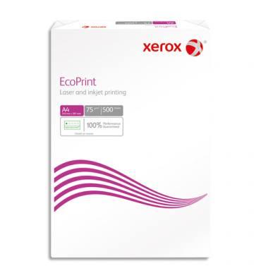 XEROX Ramette 500 feuilles papier blanc XEROX ECOPRINT A4 75g CIE 147