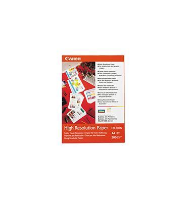 CANON Paquet de 200 feuilles papier couché haute résolution format A4 100g jet d'encre