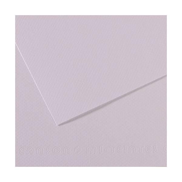 CANSON Manipack de 25 feuilles papier dessin MI-TEINTES 160g 50 x 65 cm lilas