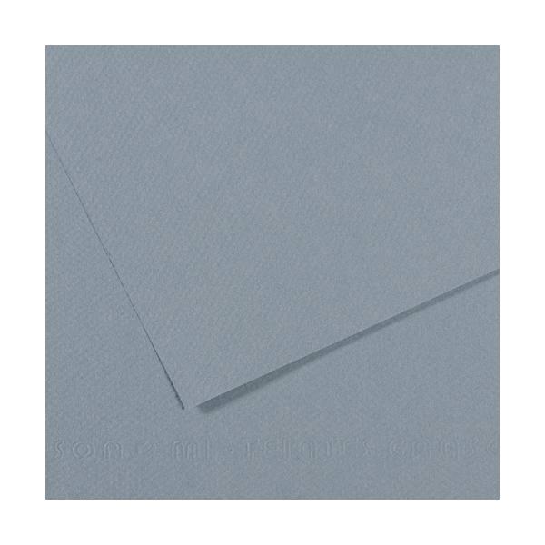CANSON Manipack de 25 feuilles papier dessin MI-TEINTES 160g 50 x 65 cm bleu clair