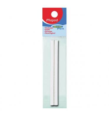 MAPED Sachet de 2 recharges pour stylo gomme GOM PEN 512511