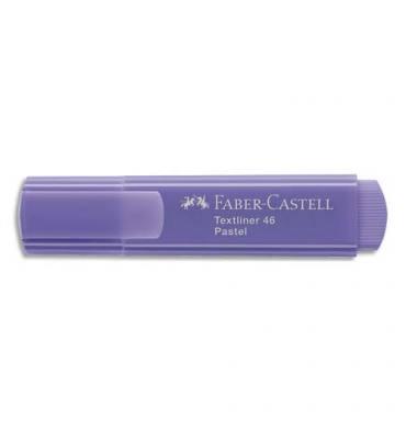 FABER CASTELL Surligneur Textliner 1546, pointe feutre biseautée, coloris pastel lilas